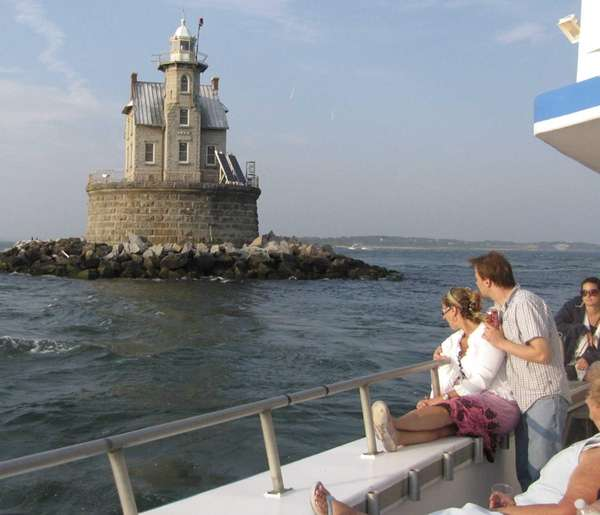 Race Rock Lighthouse off Fishers Island is reachable