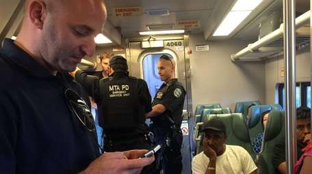 Members of the MTA Police Department's Emergency Service
