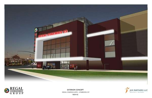 An artist rendering of the $25 million multiplex