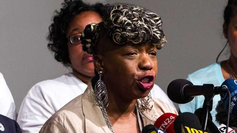 Gwen Carr, Eric Garner's mother, says during a