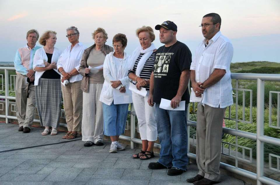 Family and friends of victims of TWA Flight