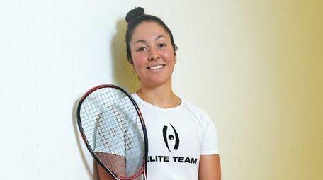 Amanda Sobhy, a nationally ranked women's squash player