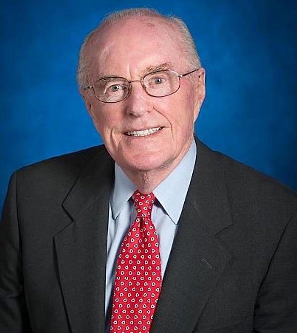 Former New York State Sen. John Dunne appears
