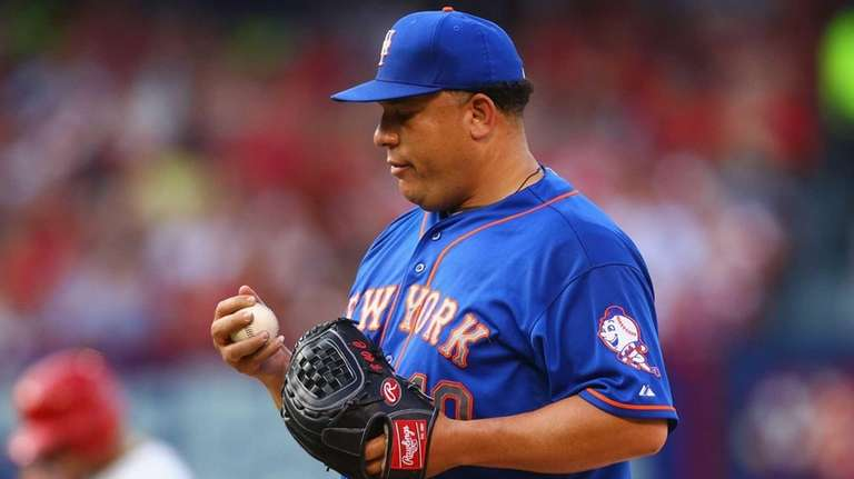 Starter Bartolo Colon of the New York Mets