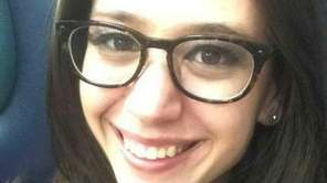 Amy Grabina, 23, of Commack, in an undated