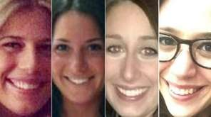The four who died in the crash were