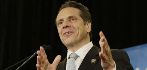 Governor Andrew M. Cuomo speaks during a
