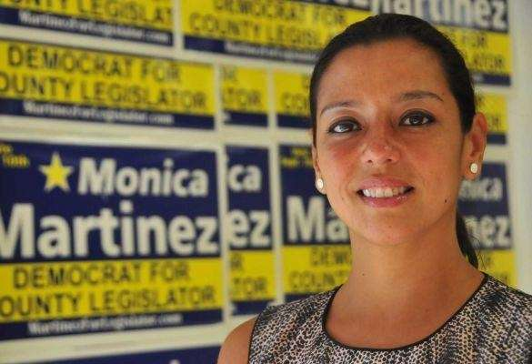 Monica Martinez has been accused of gathering fraudulent