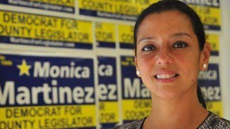 Monica Martinez has been accused of gathering fraudulent