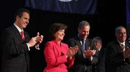 The 2014 ticket for the Democrats featured Gov.