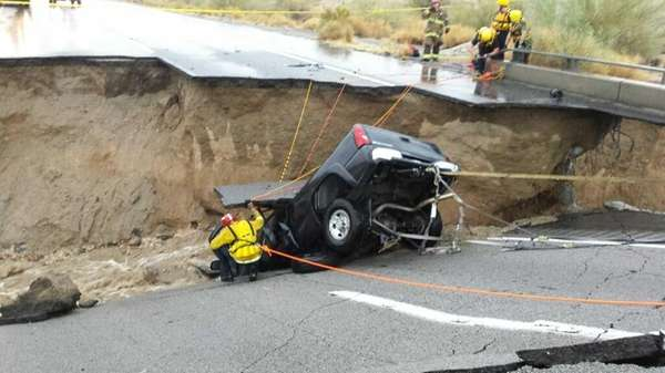 In this photo provided by the CAL FIRE/Riverside