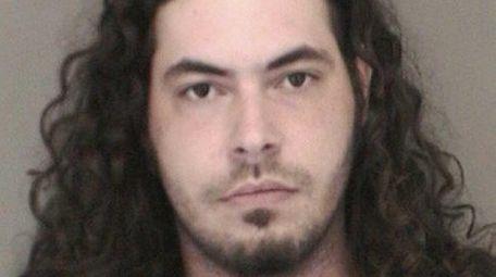 Nikolas Balalaos, 26, of Freeport, was arrested on
