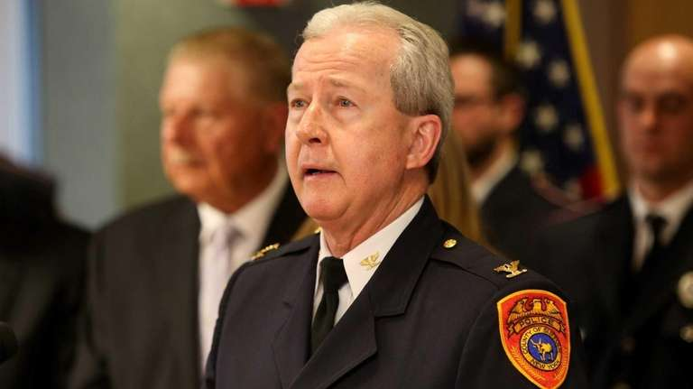 Suffolk County Police Department Second Precinct Inspector Edward