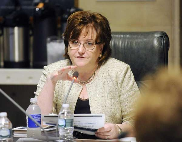 New York State Education Commissioner MaryEllen Ellia, talks