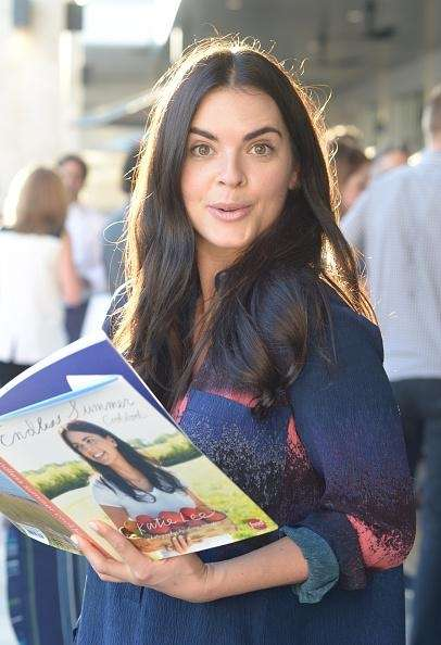 Chef Katie Lee poses with her