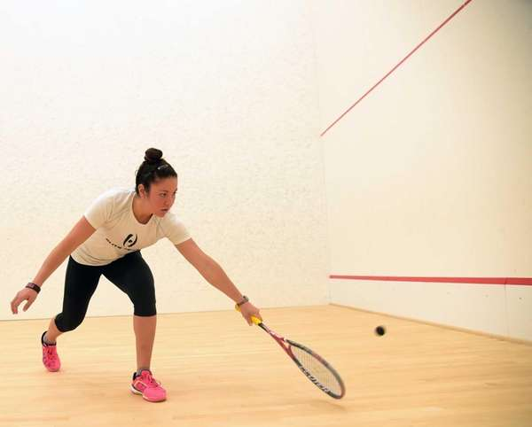 Amanda Sobhy is a nationally ranked women's squash