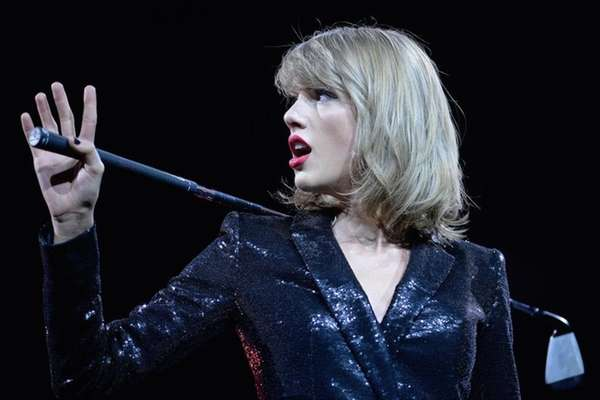 Taylor Swift performs during