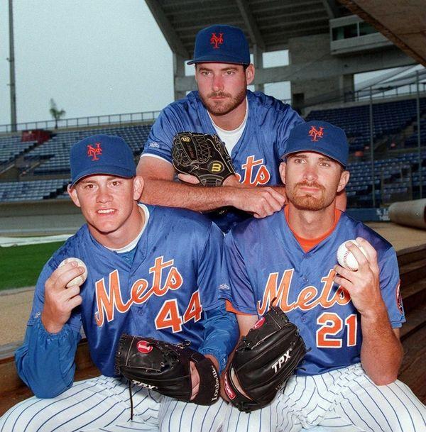 Mets' Paul Wilson, Jason Isringhausen and Bill Pulsipher