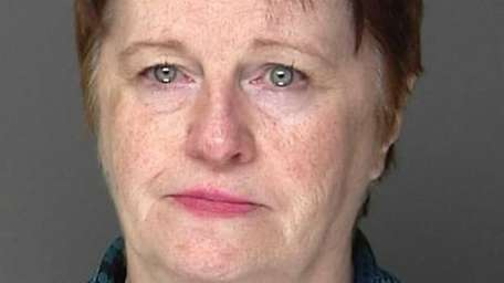 Maureen Myles, 62, was arrested by the Suffolk