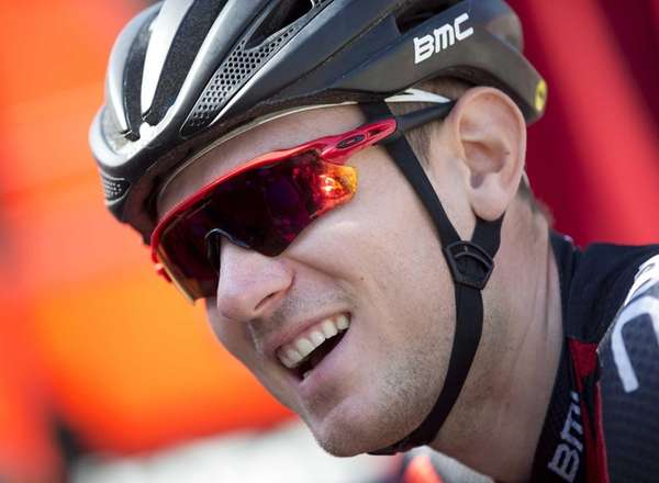 Tejay van Garderen of the U.S. smiles as