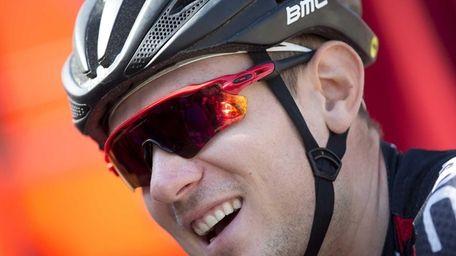 Tejay van Garderen of the U.S. smiles as