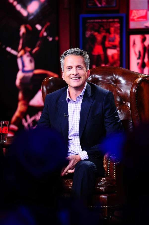 Bill Simmons during the Grantland Basketball Hour on