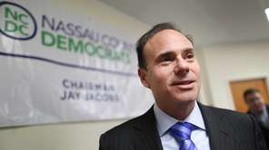 Nassau County Democratic Chairman Jay Jacobs during a