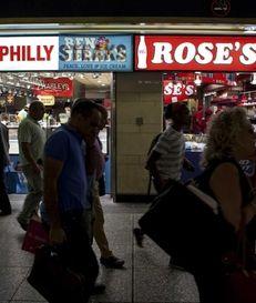 Retail stores dot the Penn Station Long Island