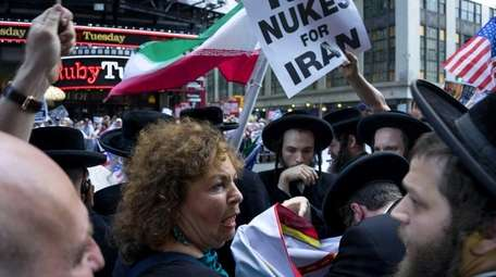 A group against the current nuclear deal between