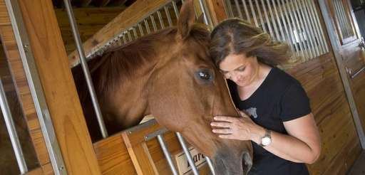 Sharon Rubin Levine, co-founder at BHF Horse Rescue,
