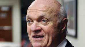 Then-New Jersey Devils general manager Lou Lamoriello talks