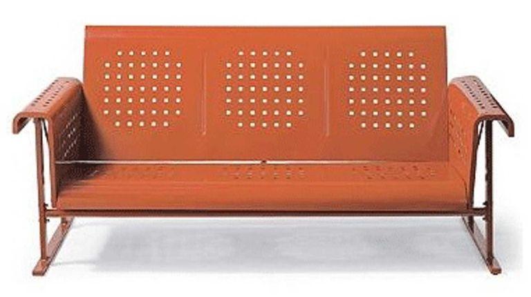 The Retro Squares Glider Sofa ($499 at grandinroad.com)