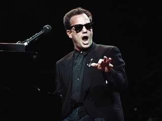 Billy Joel in concert at the Nassau Coliseum