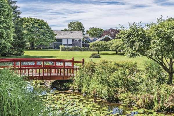A four-acre property in Sagaponack, on the market
