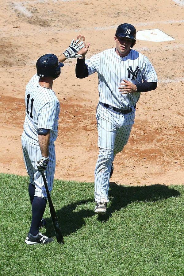 John Ryan Murphy of the New York Yankees