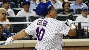 New York Mets starting pitcher Bartolo Colon loses