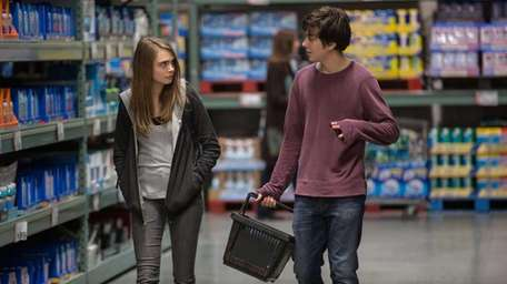 Cara Delevingne as Margo and Nat Wolff as