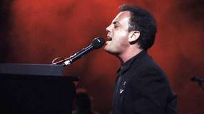 Billy Joel performs at Nassau Coliseum on Dec.