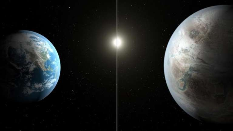This artist's rendering released by NASA on Thursday,
