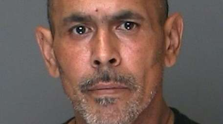 Frank Marquez, of Greenlawn, is suspected of robbing