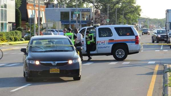 Nassau police said a 48-year-old man crossing Sunrise