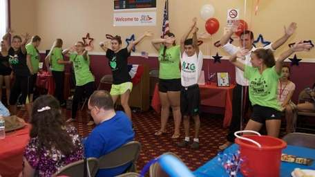Dancers from NXG Dance Studio perform at the