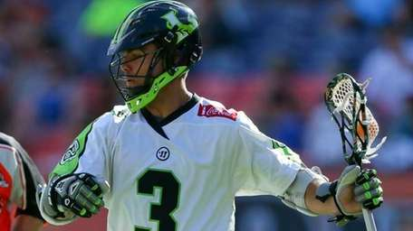 Rob Pannell of the New York Lizards looks
