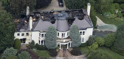 A fire Saturday afternoon destroyed the $9 million
