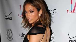 Jennifer Lopez arrives to celebrate her birthday on
