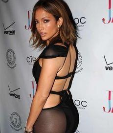 Jennifer Lopez arrives to celebrate her birthday on