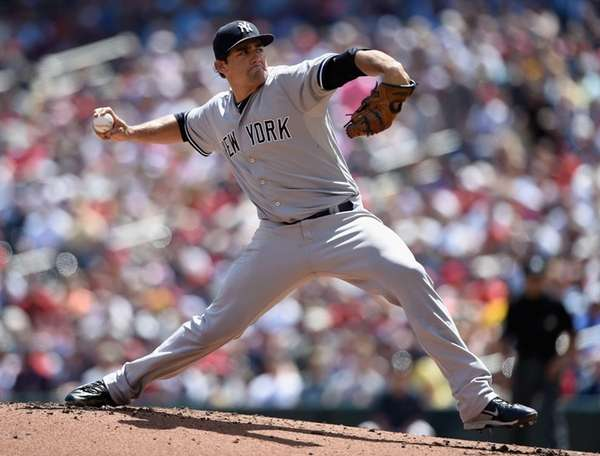 Nathan Eovaldi #30 of the New York Yankees
