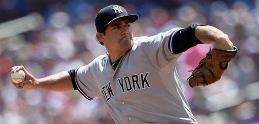Nathan Eovaldi #30 of the New York Yankees