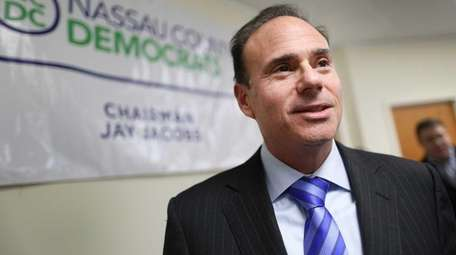 Nassau County Democratic Chairman Jay Jacobs is seen