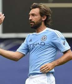 New York City FC midfielder Andrea Pirlo (21)
